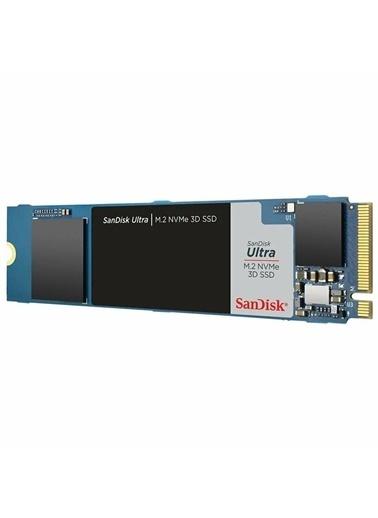 SanDisk Ultra 500Gb M.2 Nvme Ssd Sdssdh3N-500G-G25 2400Mb-1750Mb/S 3D Renkli